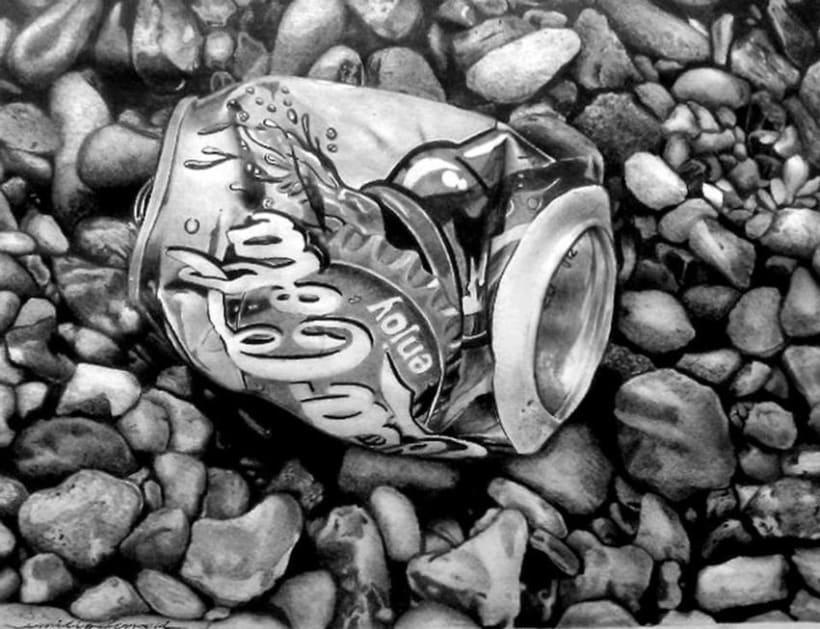 Hiperrealismo a grafito (Emilio Ferrari) -1