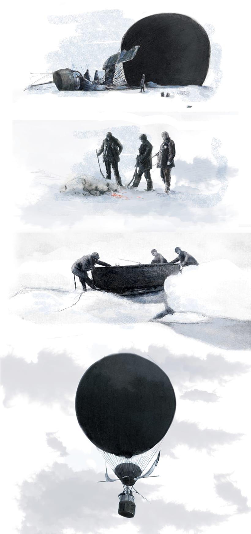 El globo de hielo 11