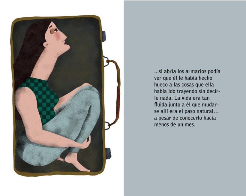 Ilustración del relato 'Seis meses, 182 días', de María Cañal Barrera 1