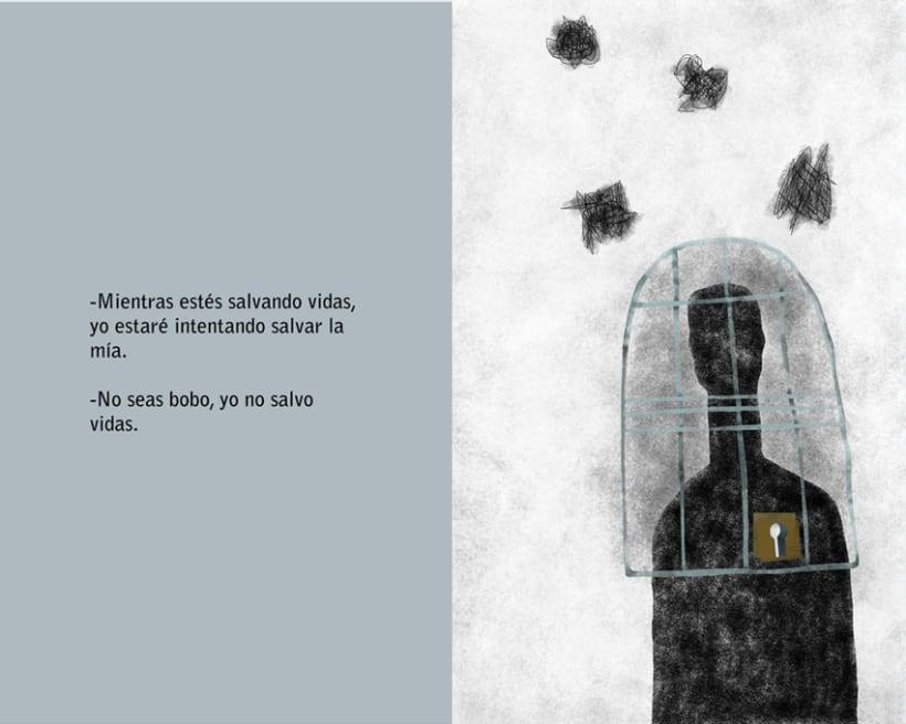 Ilustración del relato 'Seis meses, 182 días', de María Cañal Barrera 3