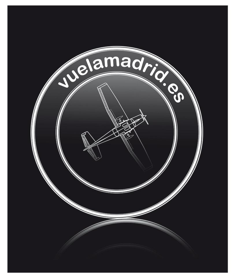Logotipo para Vuela Madrid -1