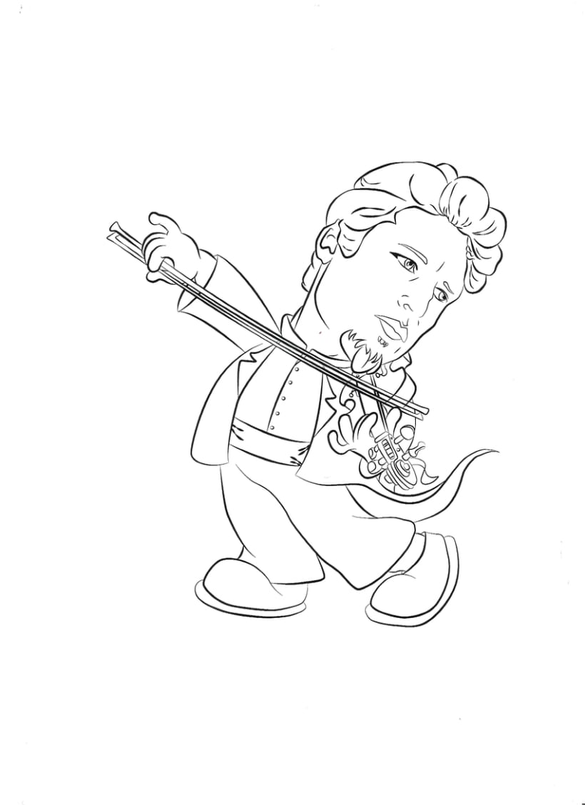 Mi pequeño gran violinista 0