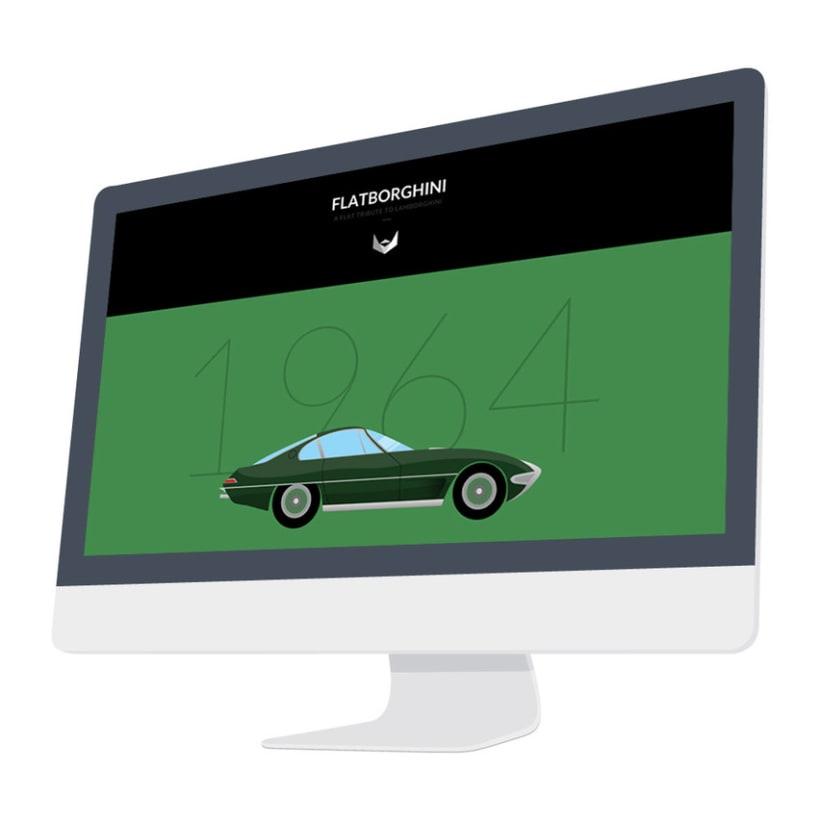 Flatborghini - Graphic design 3