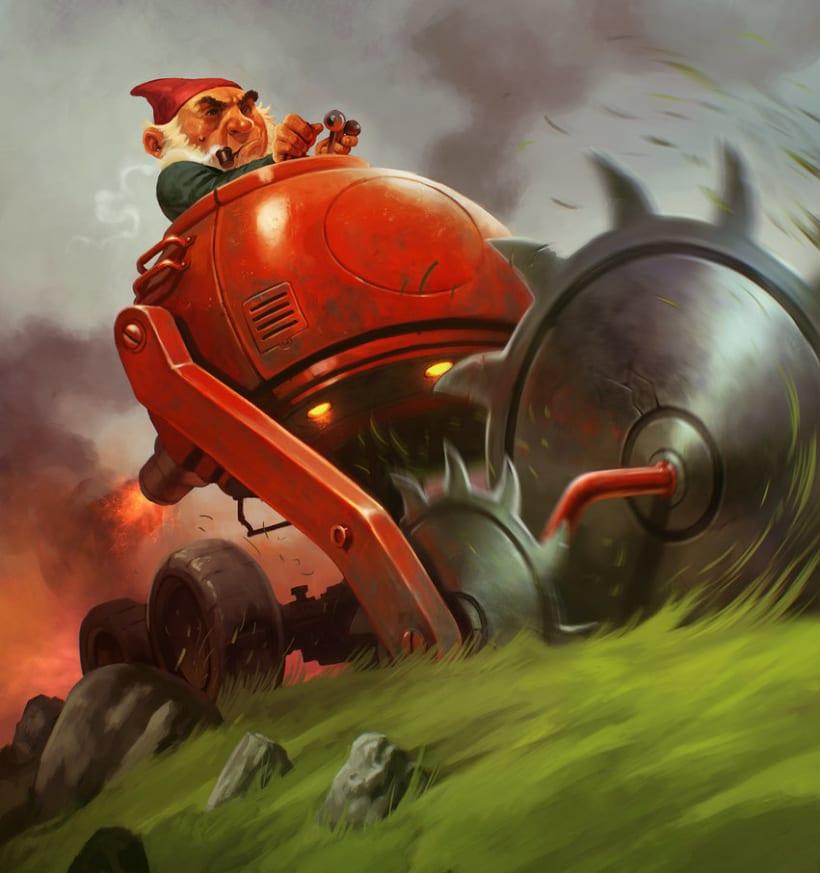 Goblins vs. Gnomes challenge 1