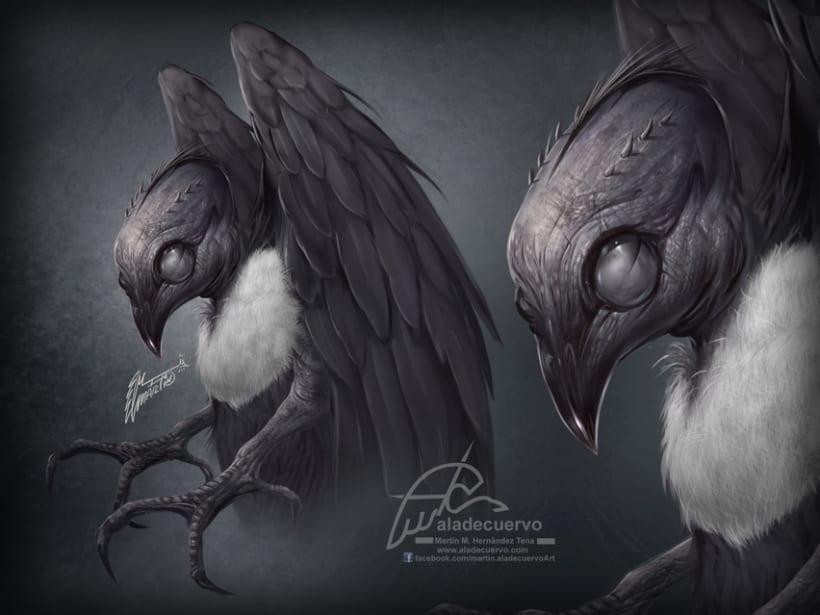 Blind Bird concept 0