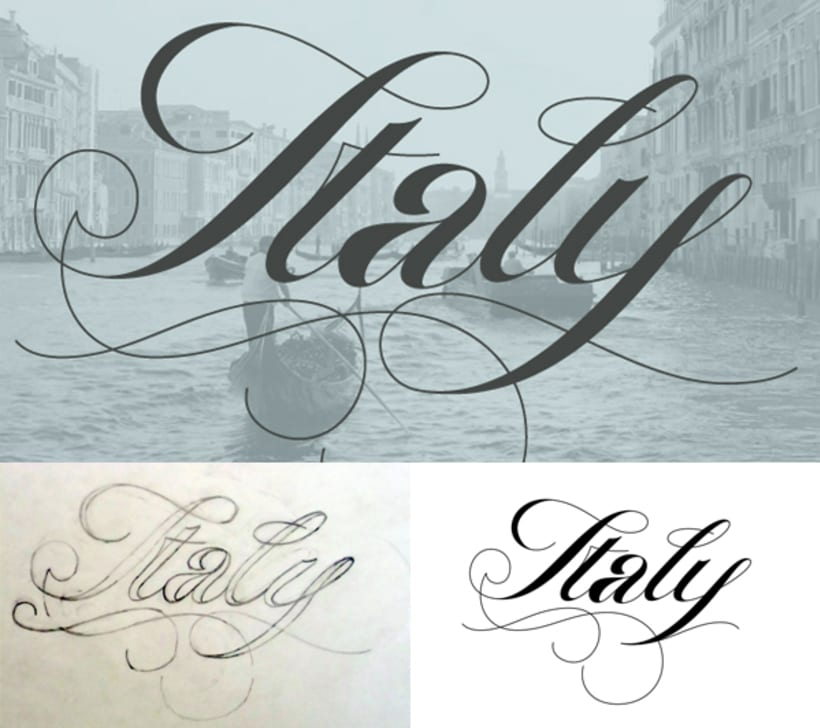 Logos and lettering works 0