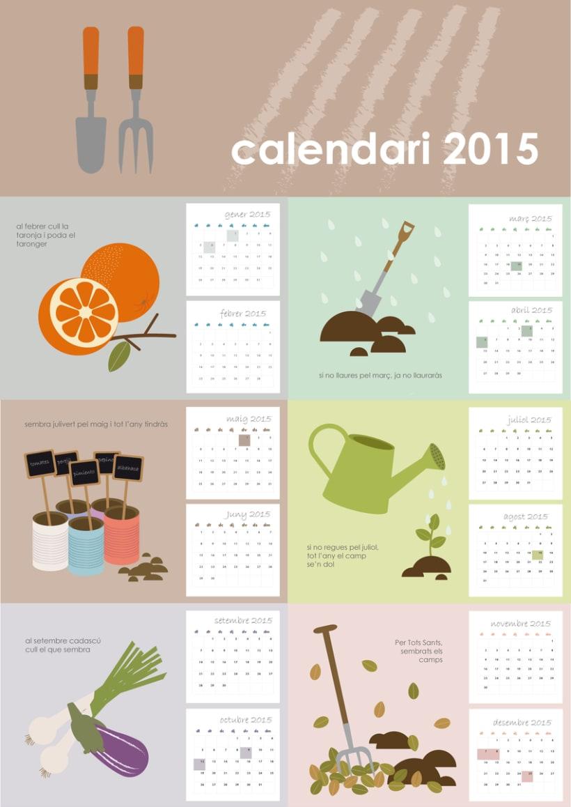 Calendario hortelano 0