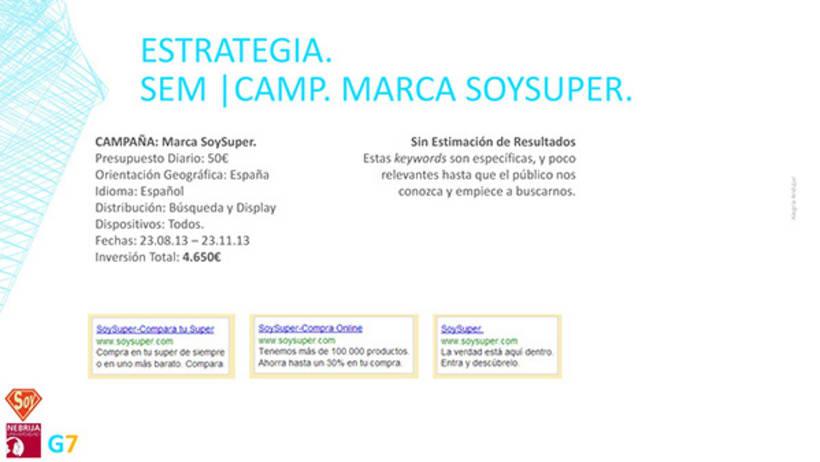 Propuesta SEO/SEM para la marca Soysuper 4