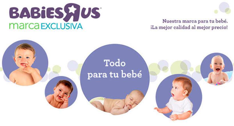 Contenido web para Babiesrus. 2