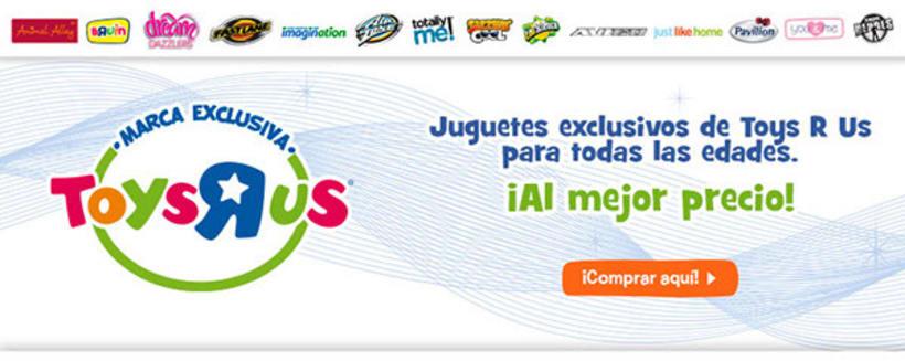 Contenido web para Toysrus. 4