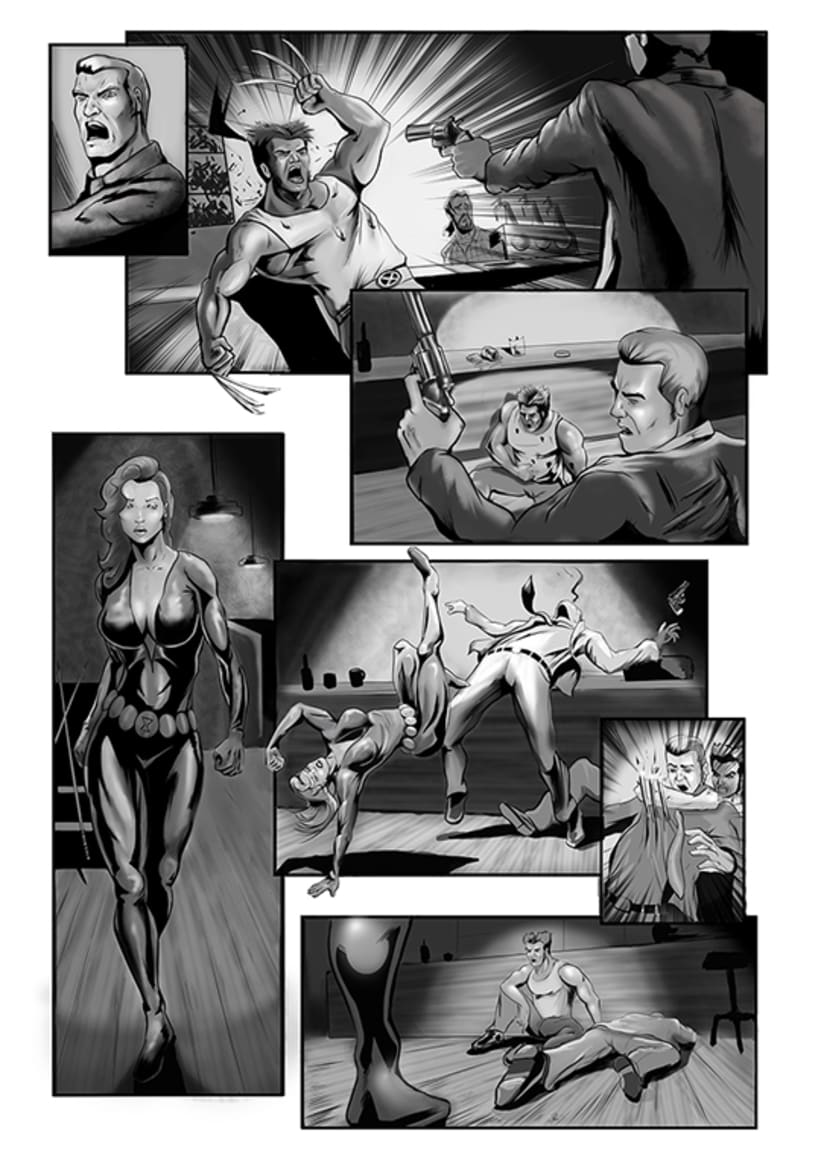 Comic Pages 1