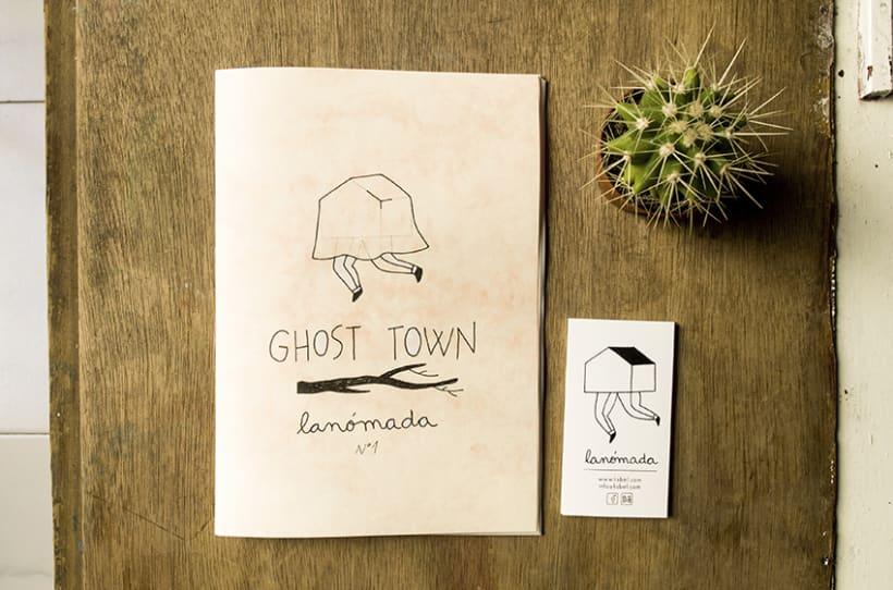 GHOST TOWN ~ fanzine 6