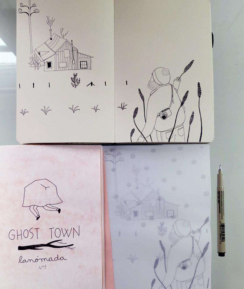 GHOST TOWN ~ fanzine 5