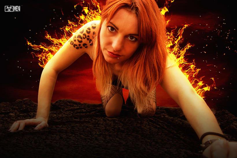 La chica de fuego 0