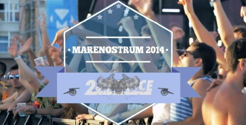 2&2 Twice @Marenostrum Music Festival 2014 -1