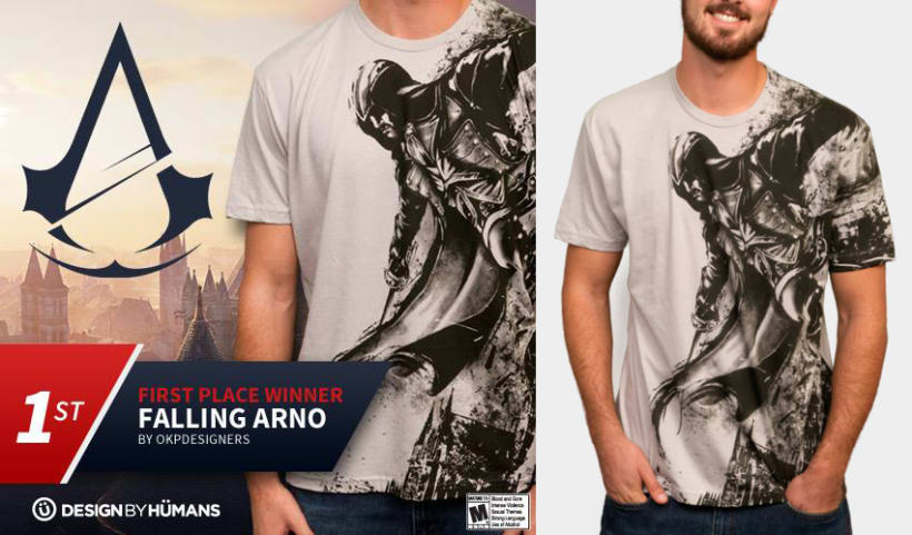 FIRST PLACE WINER ASSASSIN'S CREED UNITY OFFICIAL DESIGN CONTEST. 0