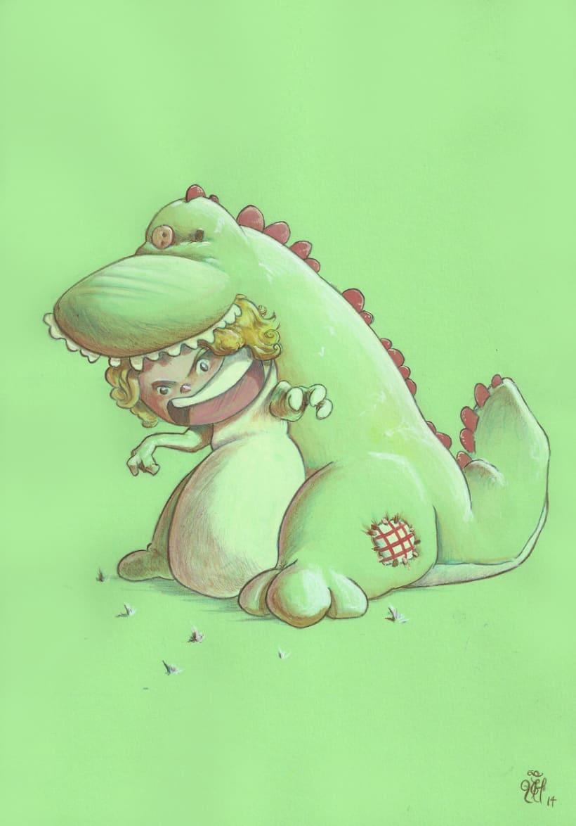 Tigosaurios, pequeñas brujas y otros  1