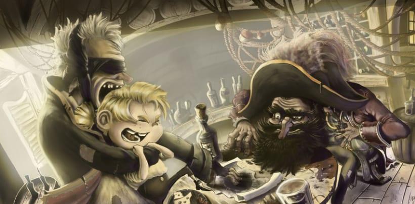 De Reyes, Piratas y valientes barrigones -1