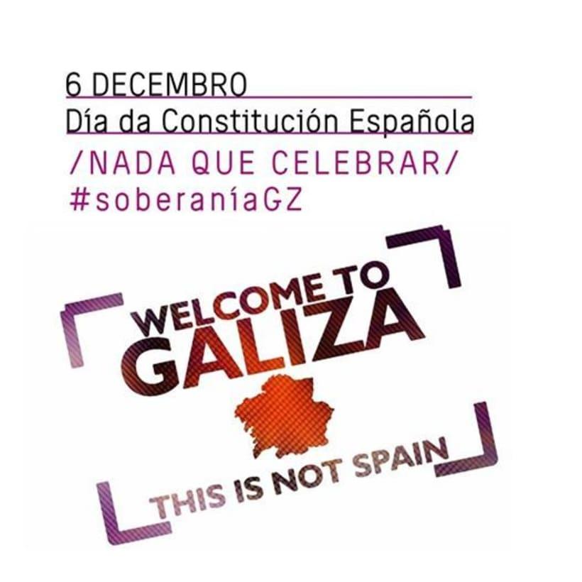 \ Nada que celebrar \ 6 de decembro, día da Constitución española \ 0