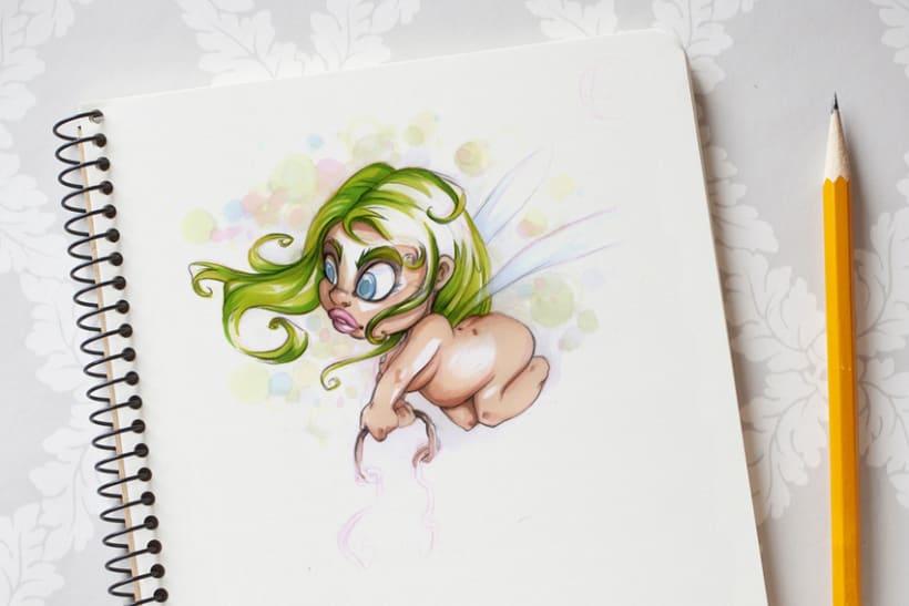 Sketch & Handmade illustration -1