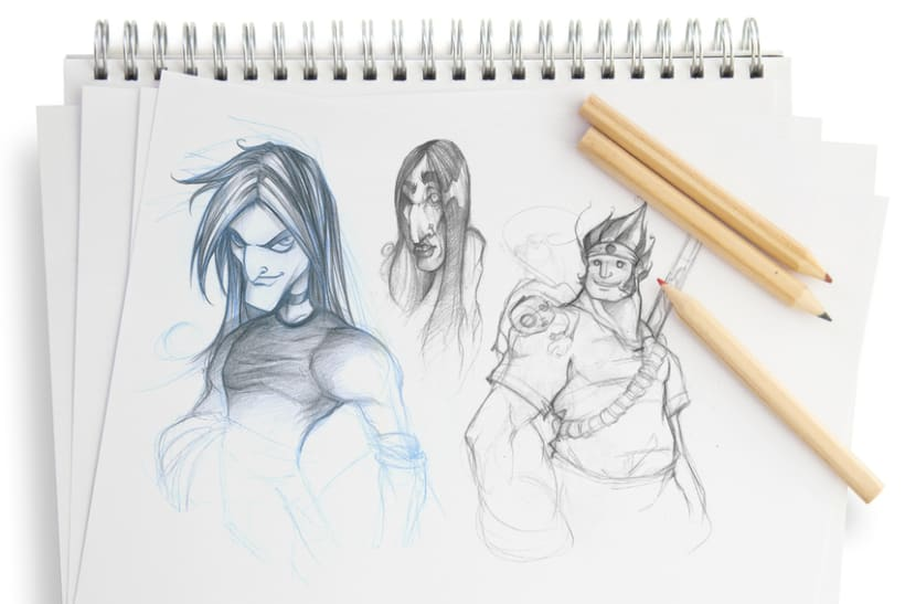 Sketch & Handmade illustration 0