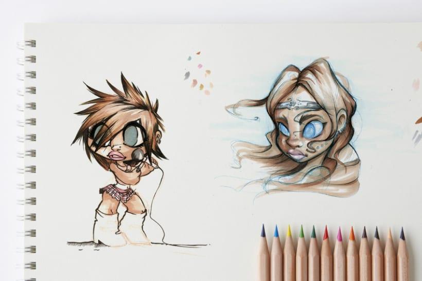 Sketch & Handmade illustration 2