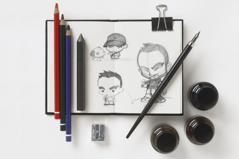 Sketch & Handmade illustration 3