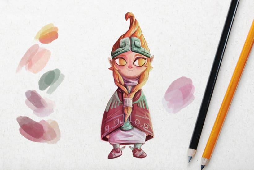 Sketch & Handmade illustration 4