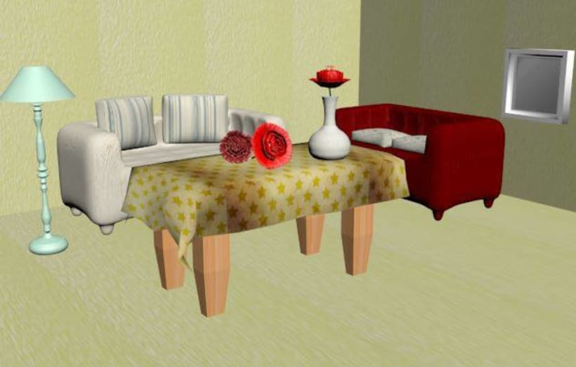 3ds max modeling -1