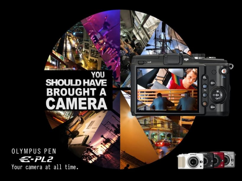 Olympus Pen Ad Campaign (thesis) 0