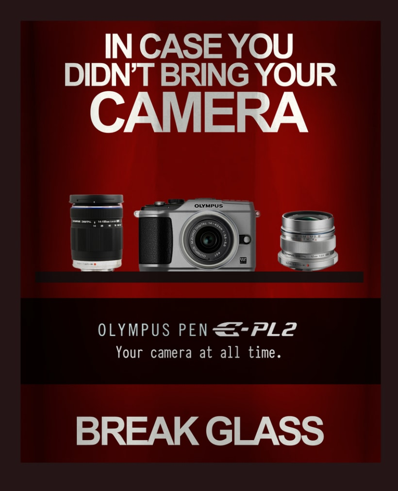 Olympus Pen Ad Campaign (thesis) 2