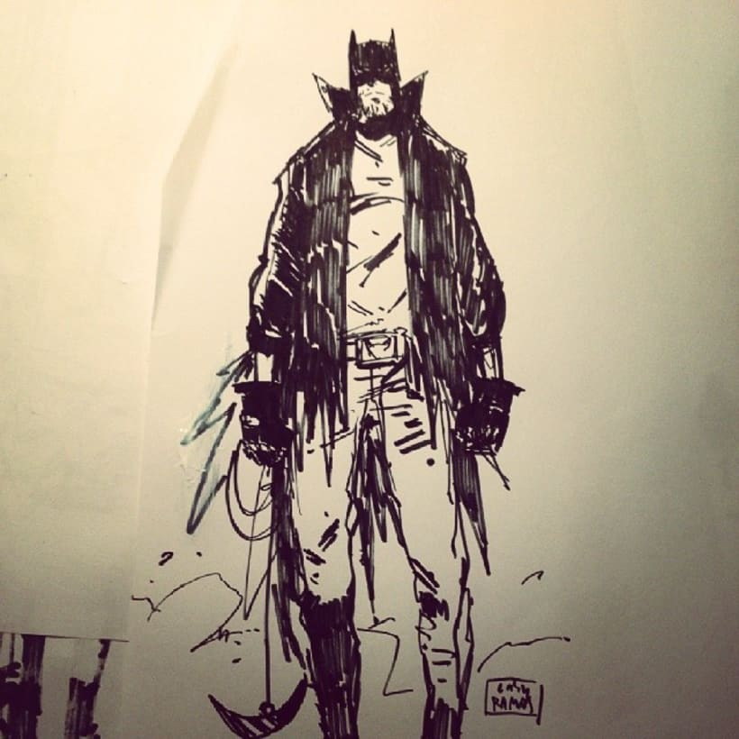 BATMAN RIDER 1