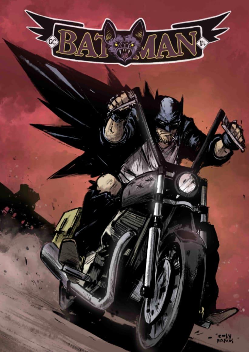 BATMAN RIDER 0
