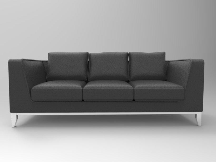 3d Sofa 0