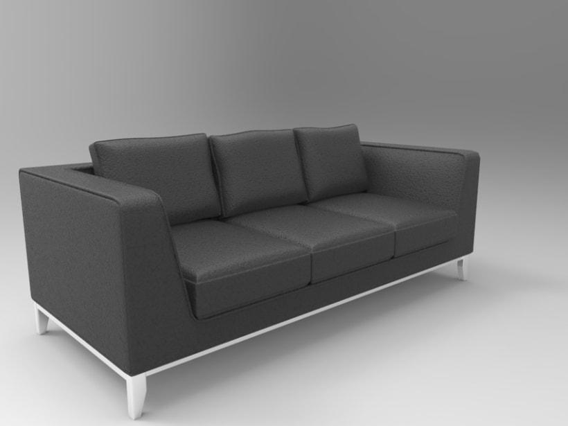 3d Sofa 1
