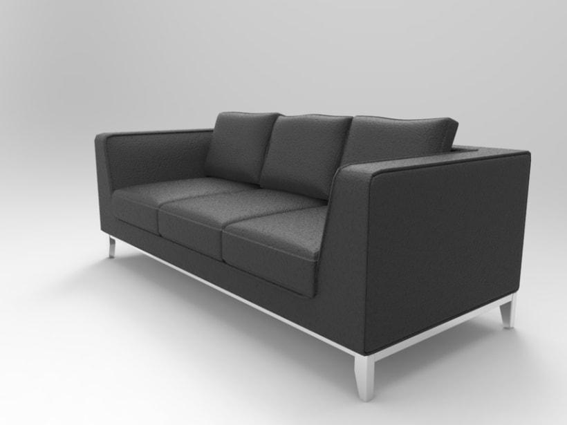 3d Sofa 2