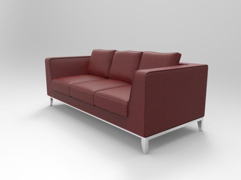 3d Sofa 3