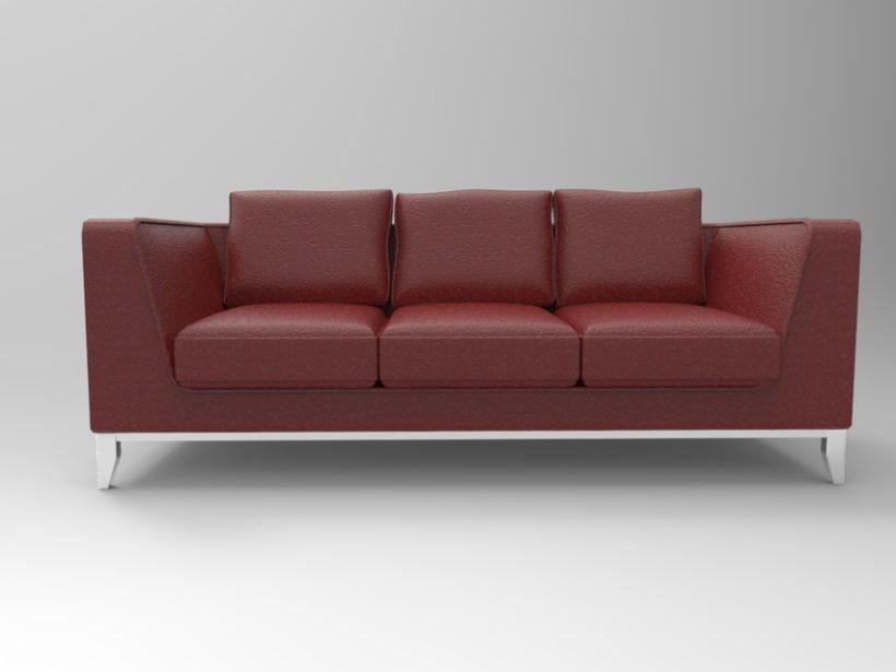 3d Sofa 4