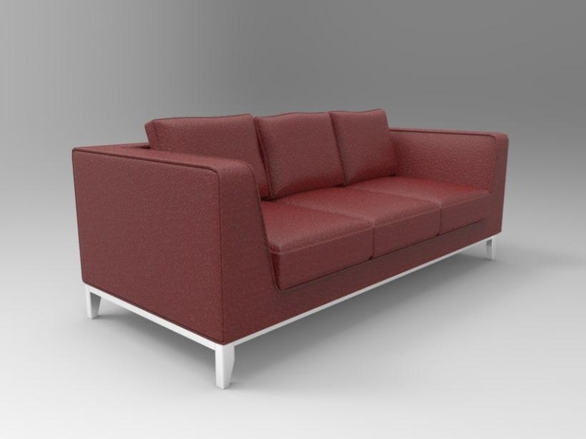 3d Sofa 5