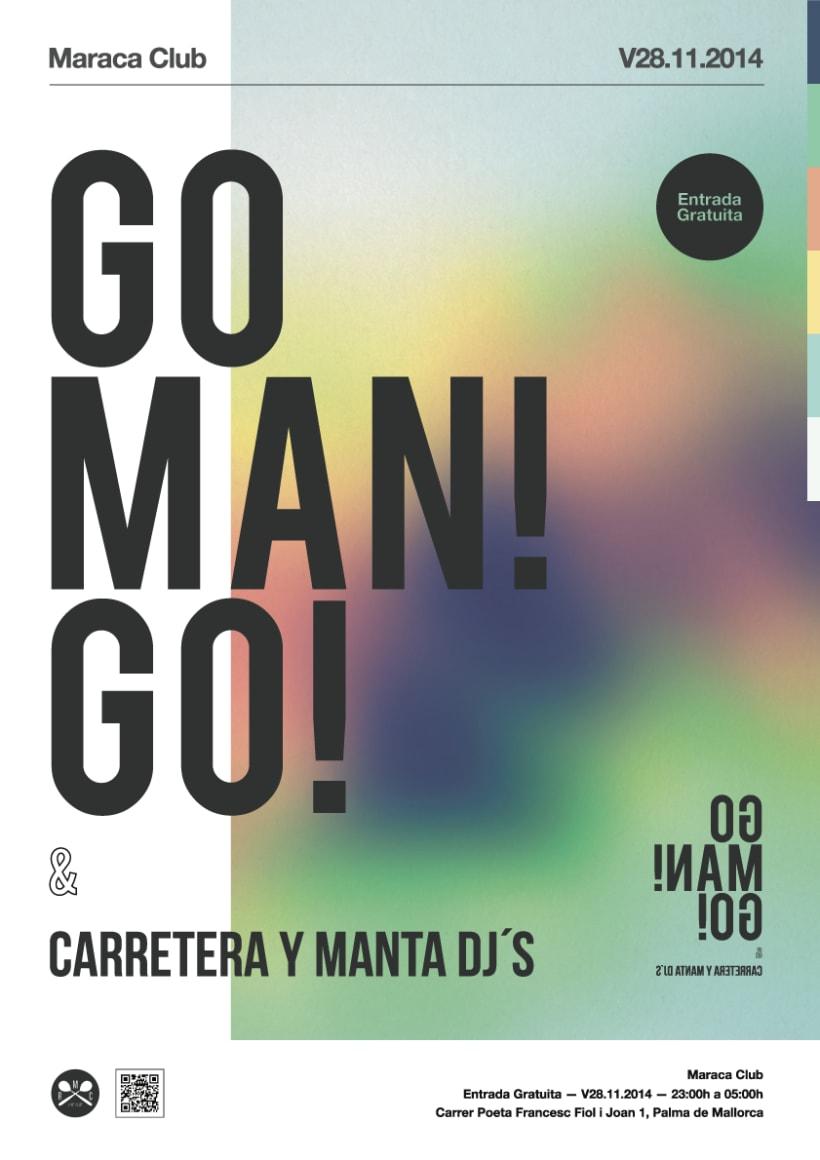 Go man! go! concierto en Maraca Club -1