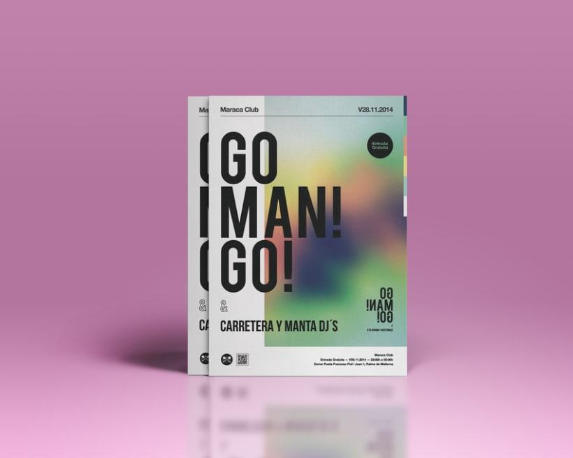Go man! go! concierto en Maraca Club 1
