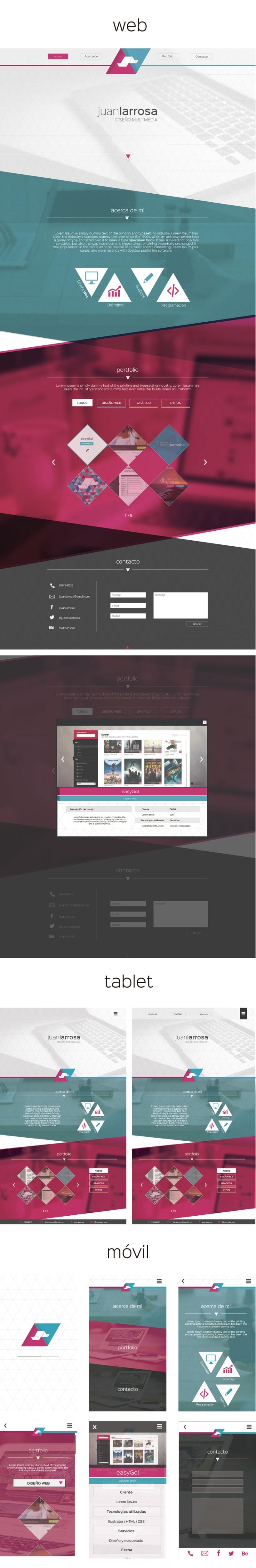 Identidad en web, tablet y móvil. -1