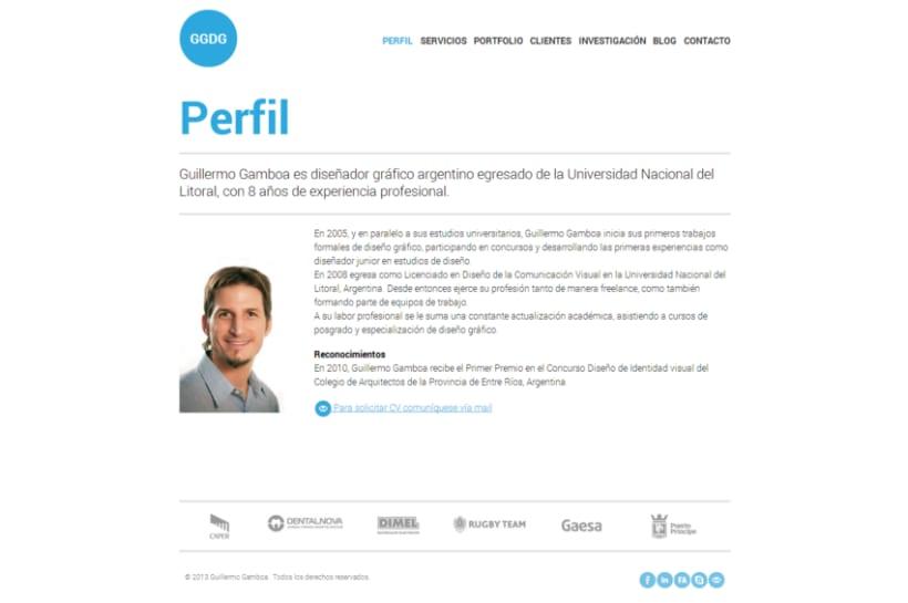 Maquetado Wordpress - Guillermo Gamboa 1
