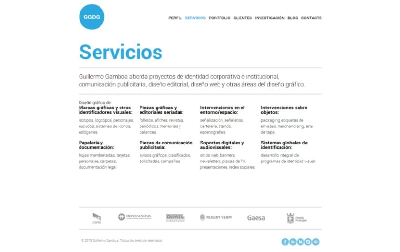 Maquetado Wordpress - Guillermo Gamboa 2