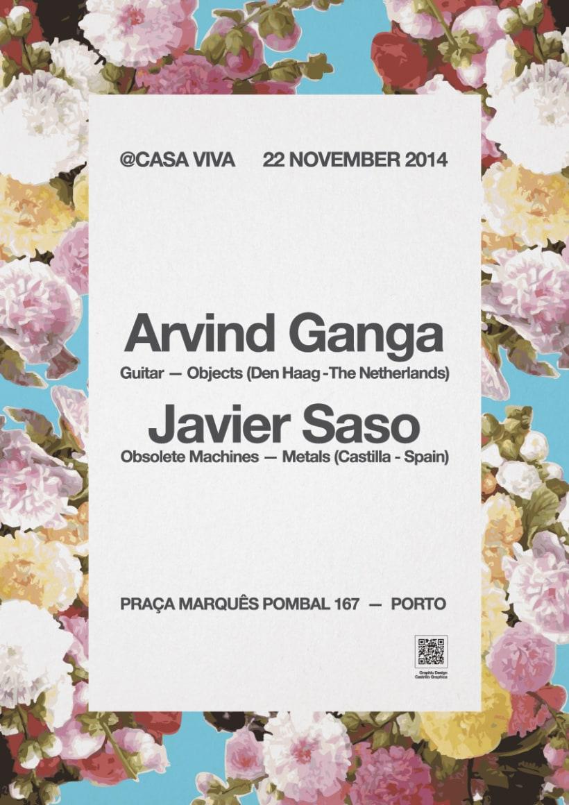 JAVIER SASO Concierto en @CASA VIVA Oporto 1