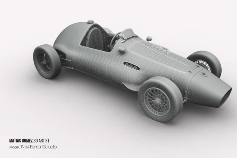 Ferrari Squalo 3d Model 0