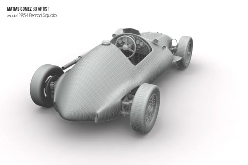 Ferrari Squalo 3d Model 1