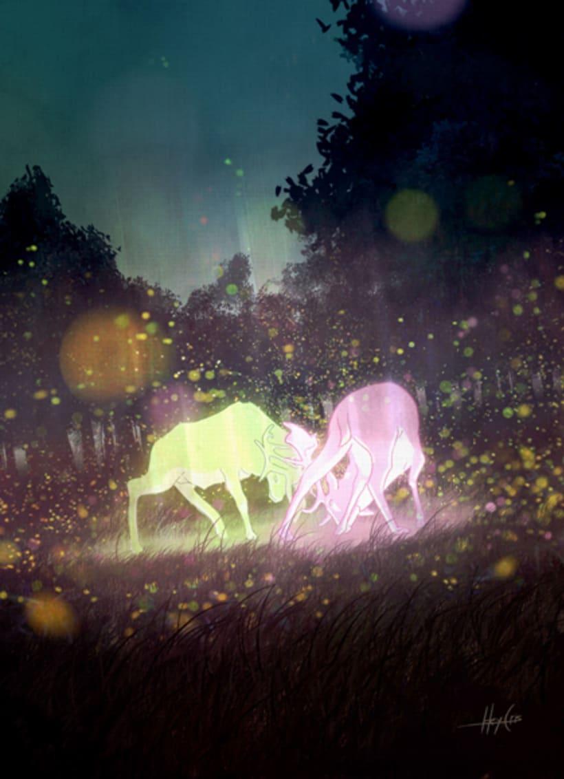 ciervos celestiales 1