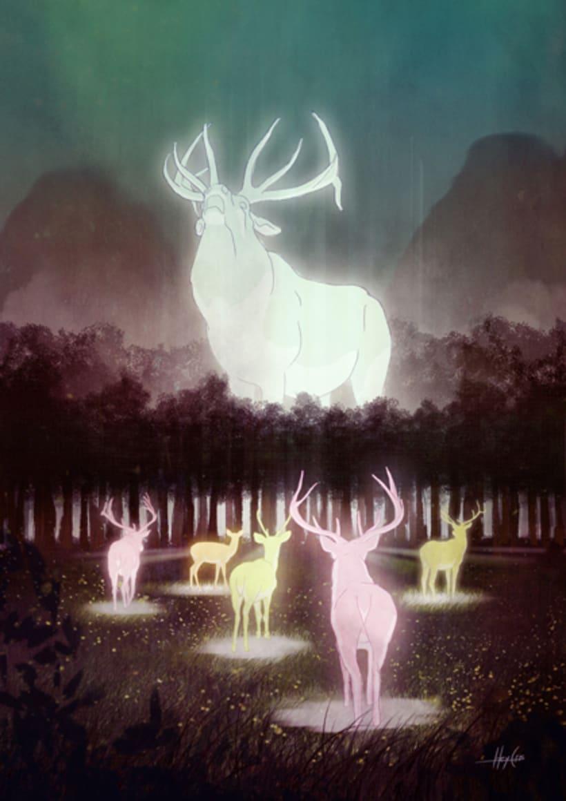 ciervos celestiales 3