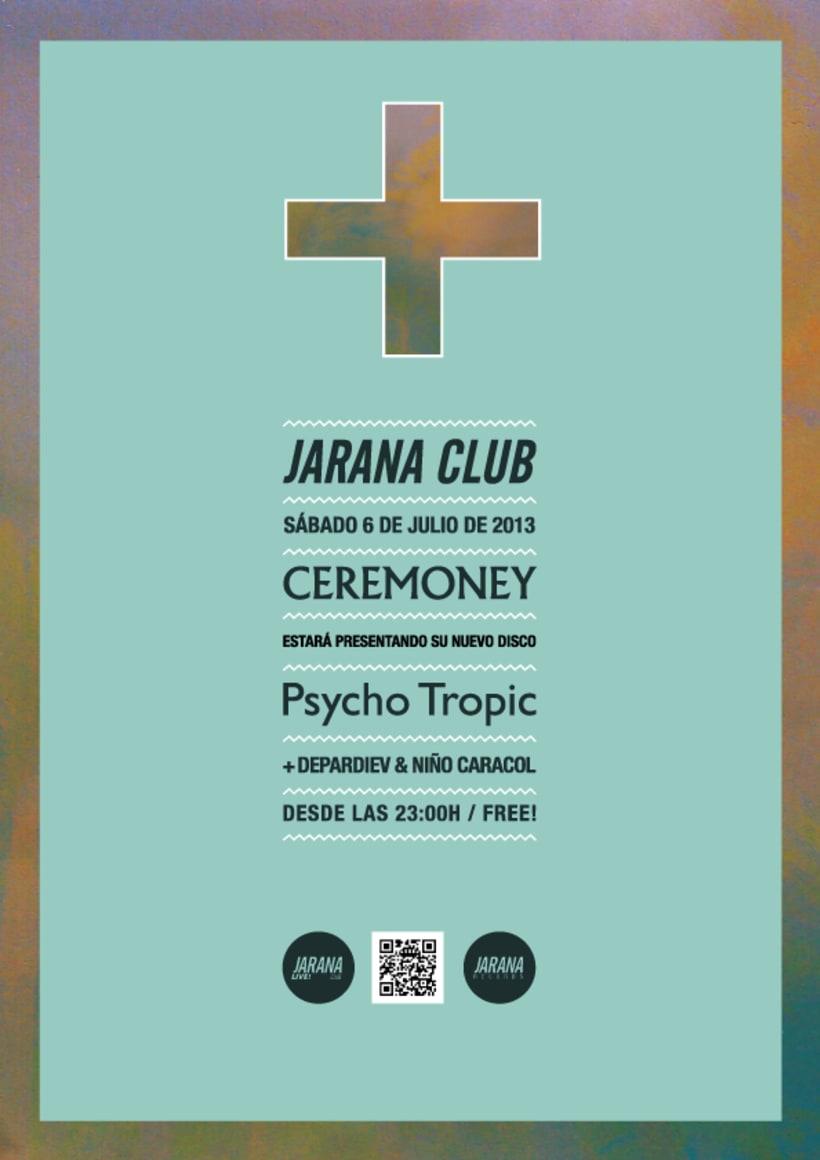 CEREMONEY - Psycho Tropic (Jarana Records 2013) LP 3